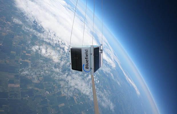 Bluefield tech high altitude balloon test