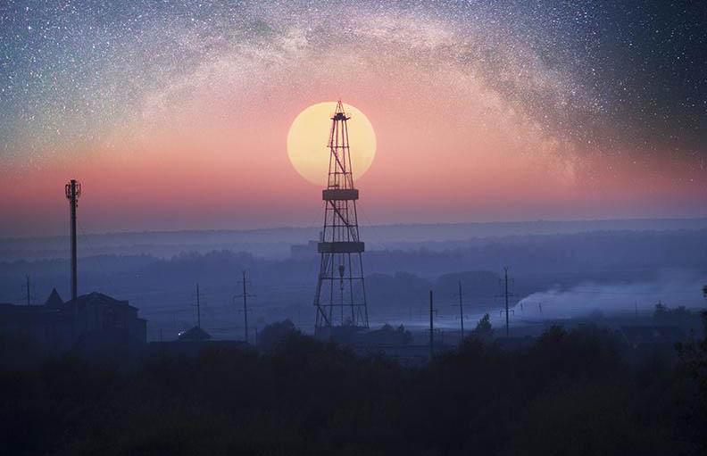 microsatellite natural gas methane